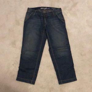 Eddie Bauer crop jeans size 2
